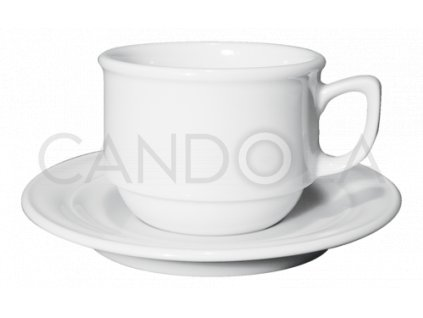 Belem stohovatelný šálek nacappuccino ačaj spodšálkem Belem 200ml