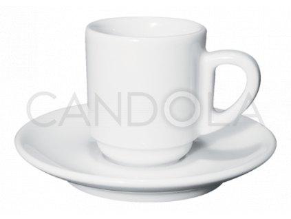 Bistrot stohovatelný šálek naespresso spodšálkem Edex 80ml