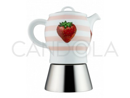 Fragole kávovar Carina naespresso 4porce