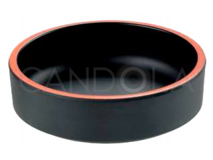 T8236 T8237 Leone black terracotra round bowl cerna terakota miska melaminova 1