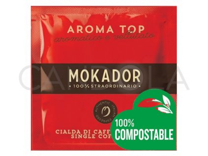 Mokador kávové pody Aroma Top 20ks