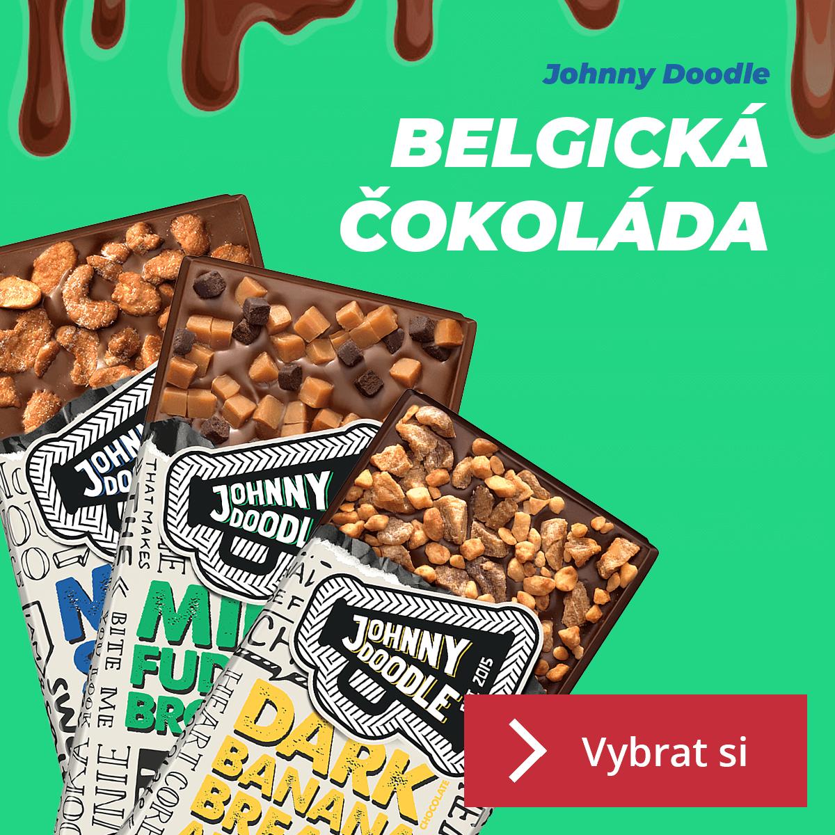 Čokolády Johnny Doodle