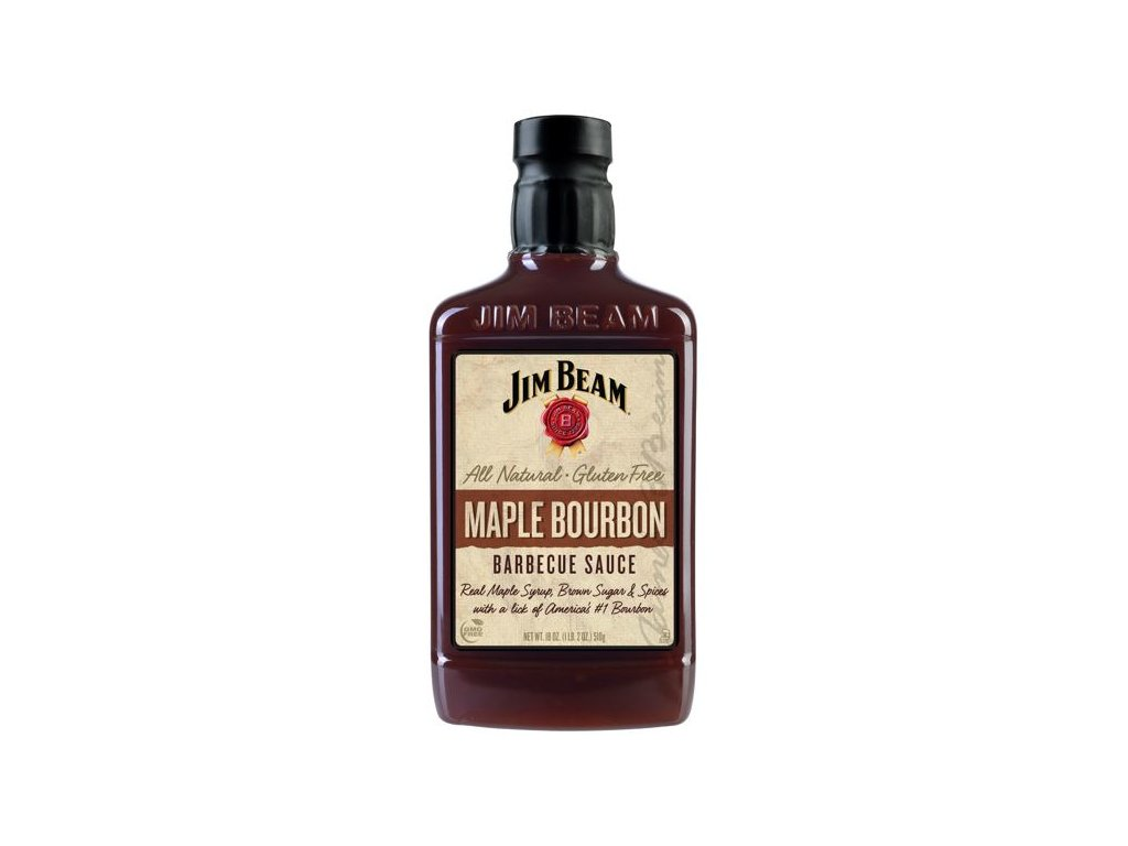 Jim Beam Maple Bourbon BBQ Sauce 420ml