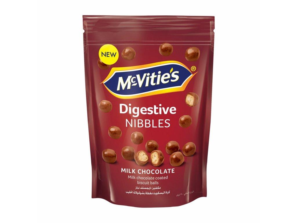 Mcvities Digestive Nibbles Milk  120g