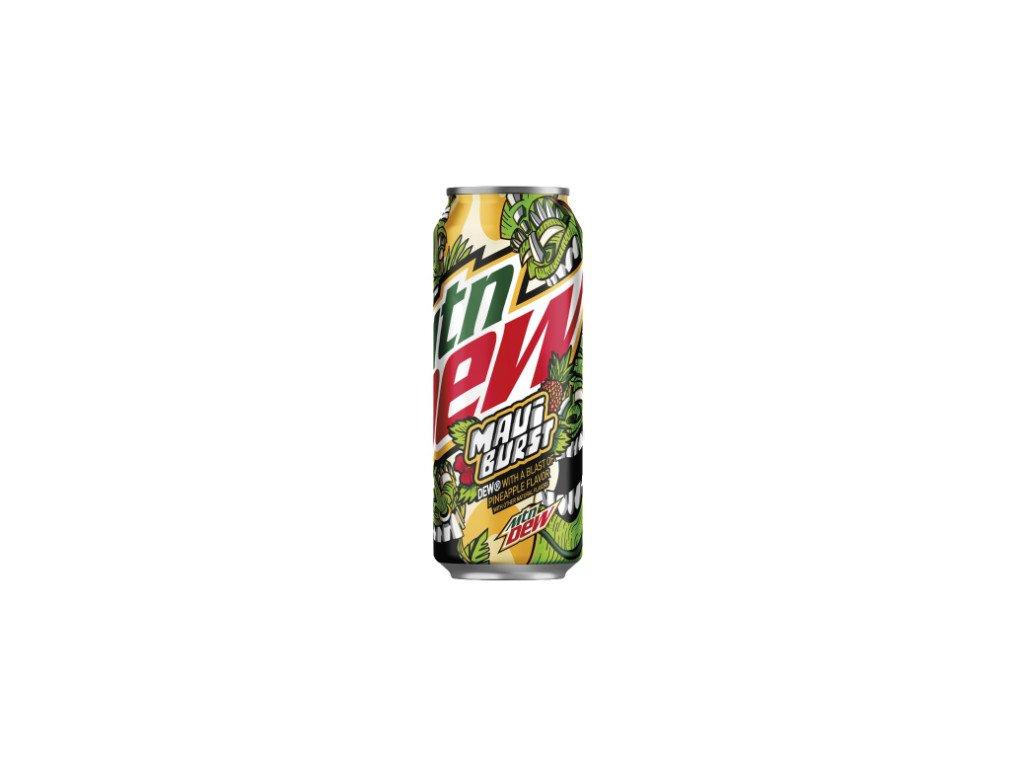 mountain dew maui burst soda