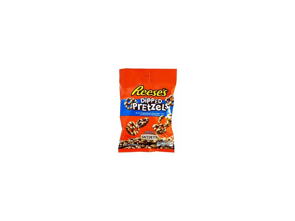 reeses peanut butter dipped pretzels 120g