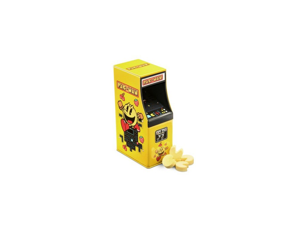 pac man arcade candy tin