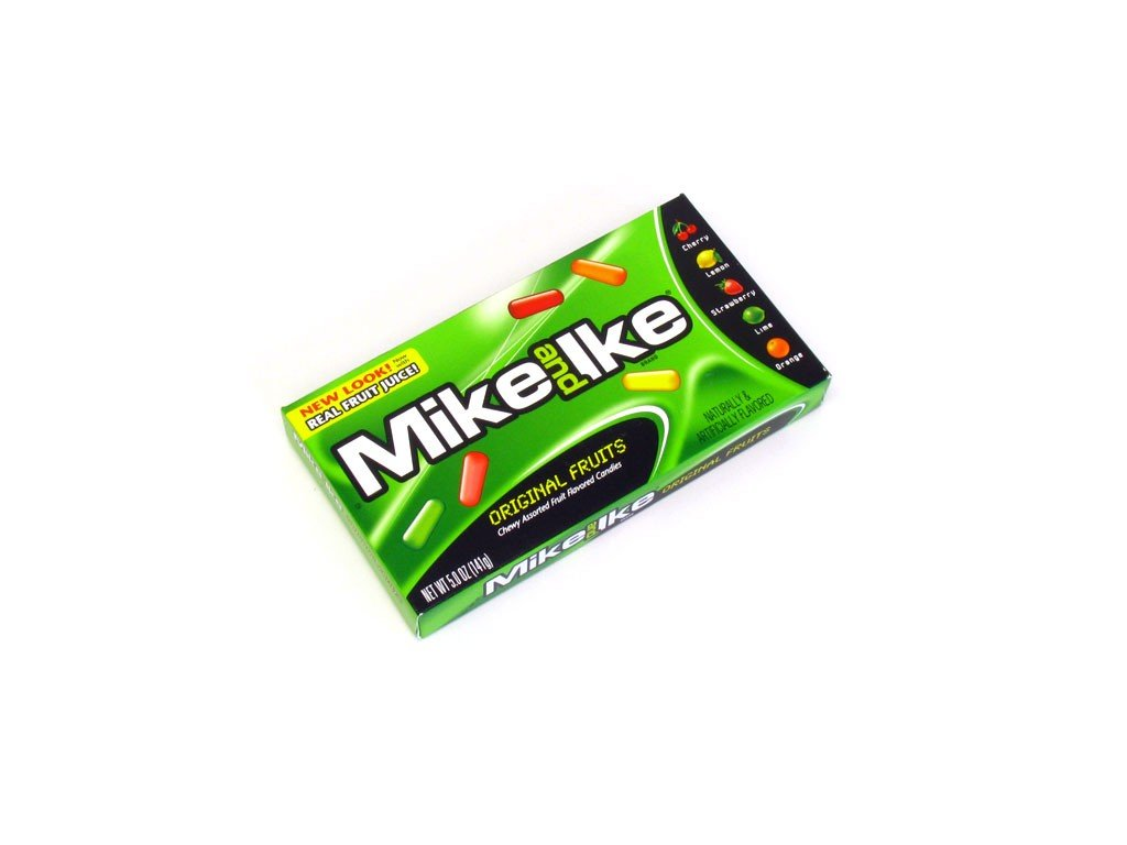 mike ike original theater box