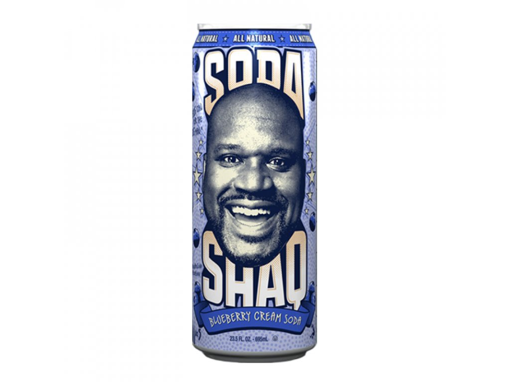 arizona shaq soda blueberry cream soda 800x800