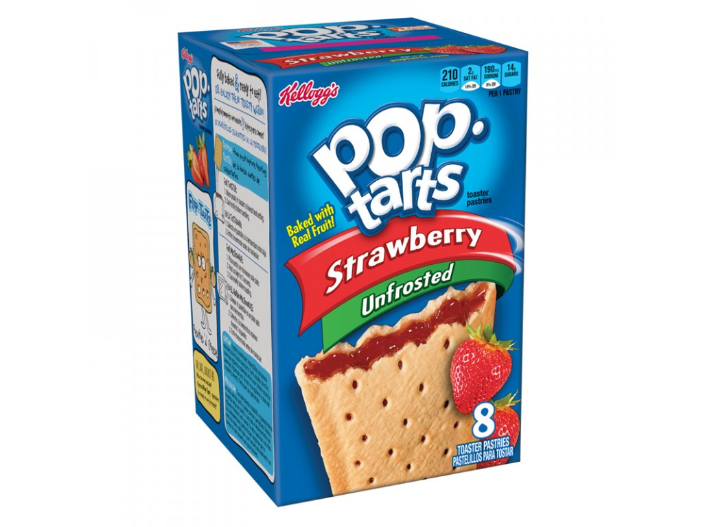 pop tarts strawberry unfrosted 8 pack 800x800