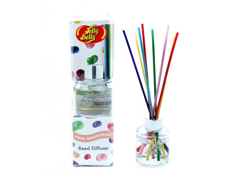 jelly belly reed diffuser 30ml pink grapefruit 244