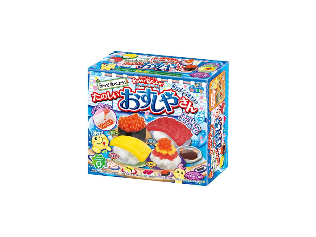 kracie popin cookin happy sushi house