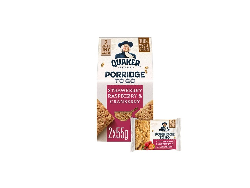 Quaker Mixed Berries Squares 110g