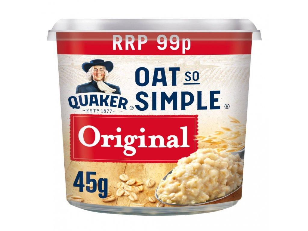 Quaker Oat So Simple Original 45G