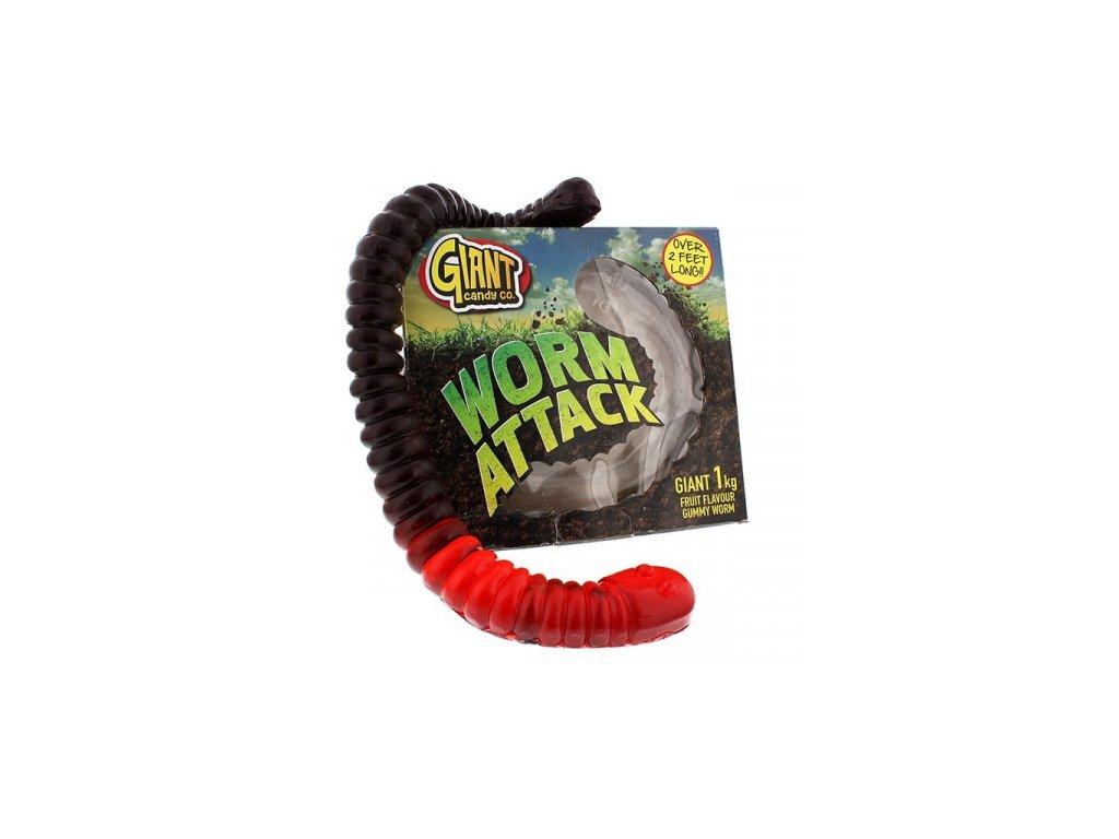 giant gummy candy worm