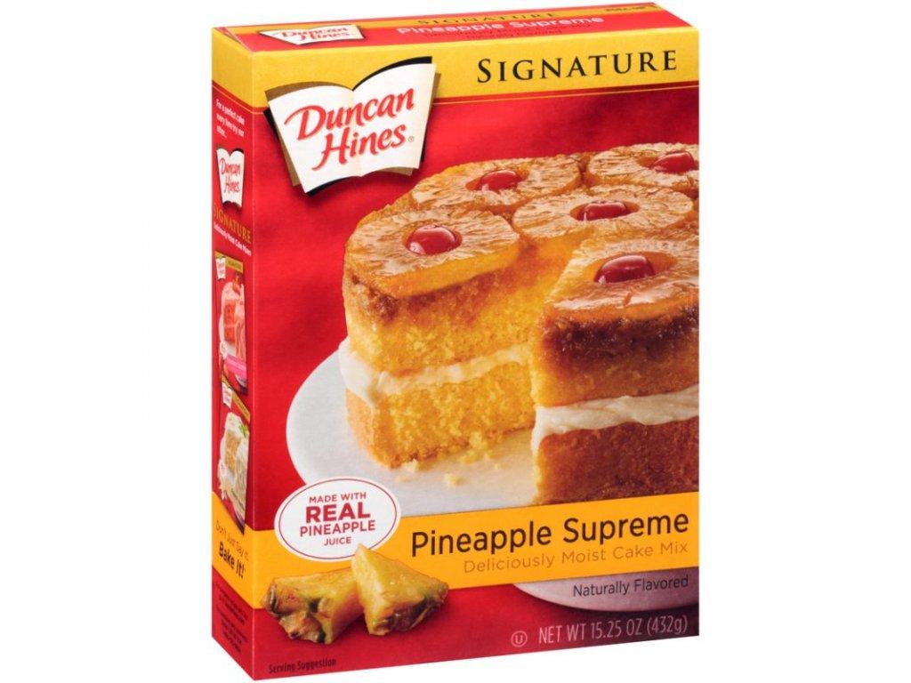 Duncan Hines Signature Pineapple Cake 468g