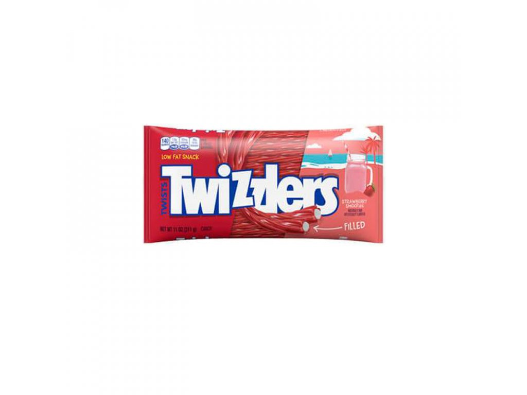 Twizzlers Limited Edition Strawberry Smoothie 311g