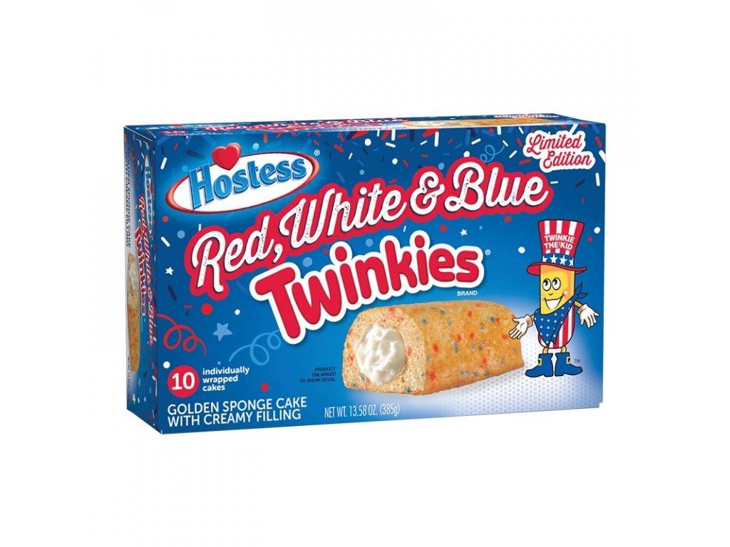 1129 hostess red white blue twinkies 10 kusu 385g