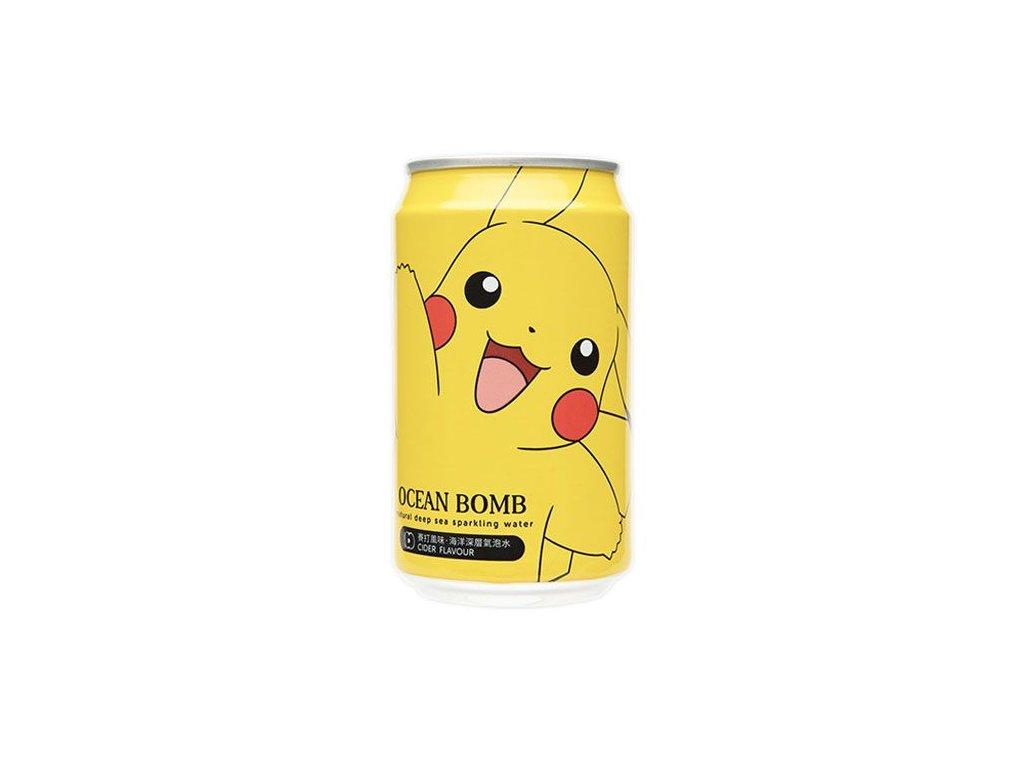 Pokemon Pikachu Cider Flavour Sparkling Water 330ml