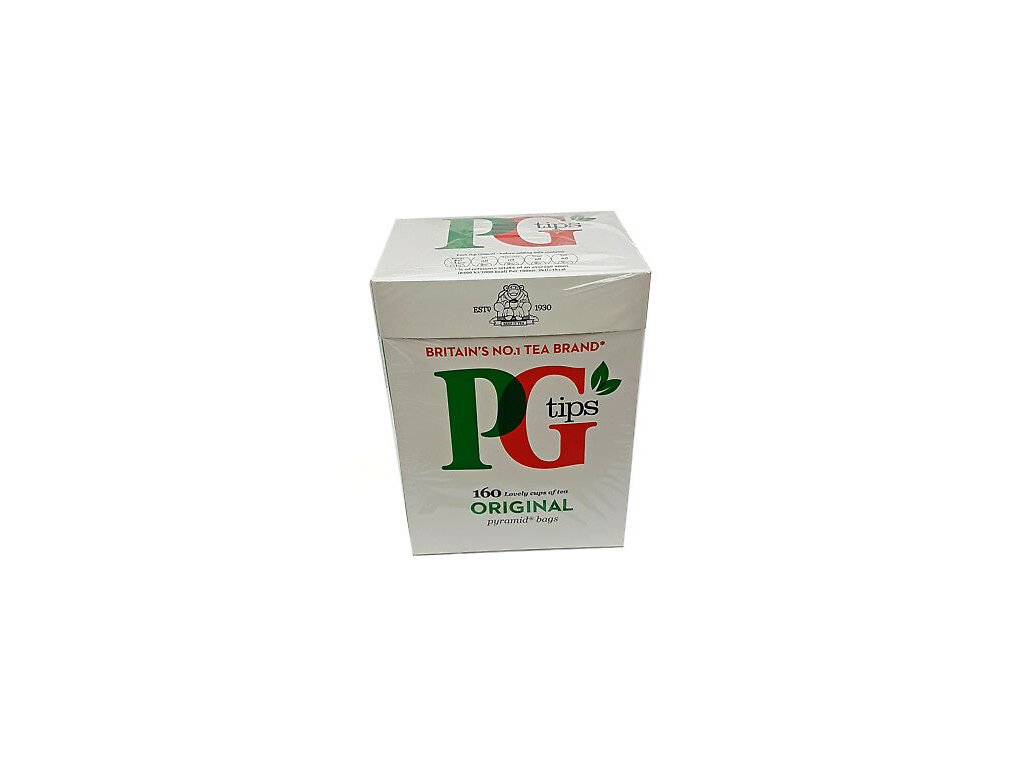 PG Tips Original Pyramid Black Teabags 160s 464g 1
