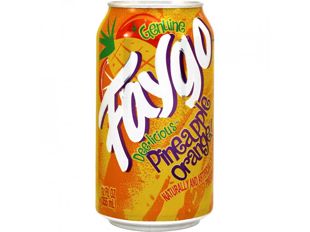 faygo pineapple orange 355ml