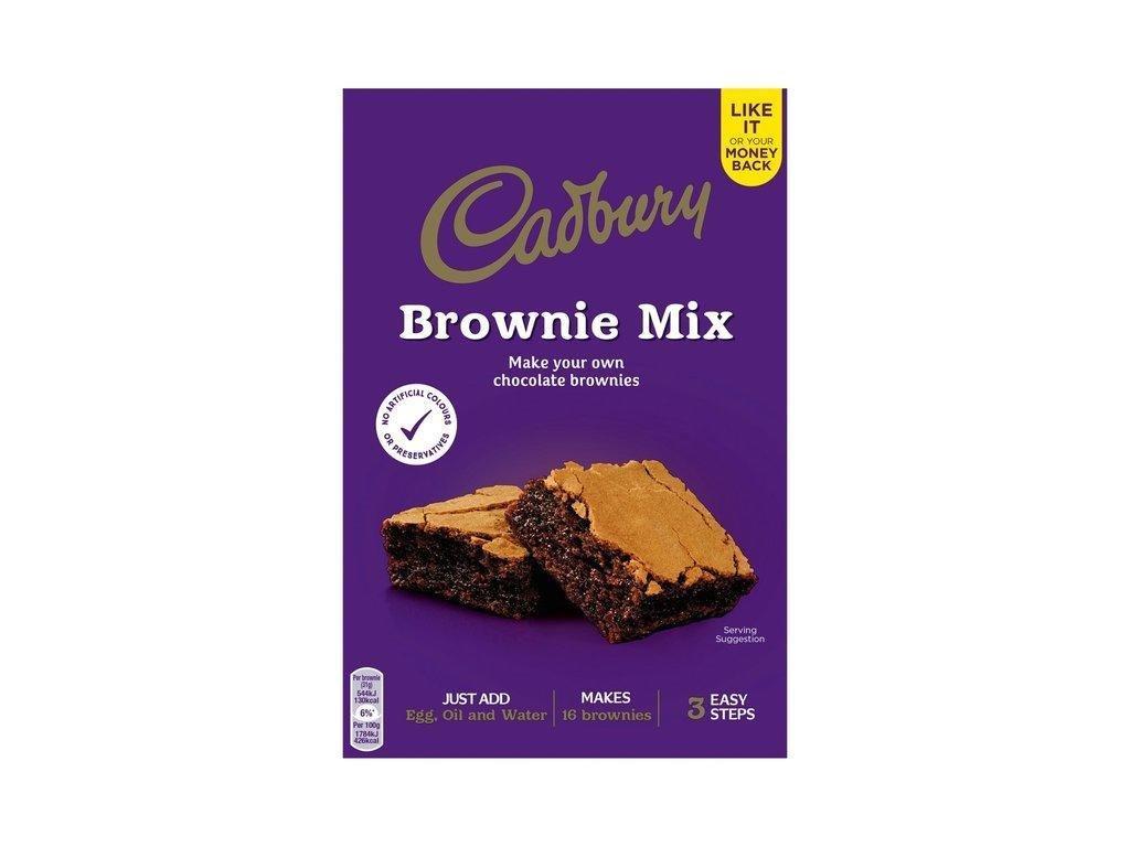 Cadbury Chocolate Brownies Mix 350g z1