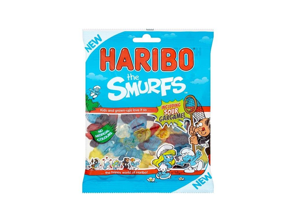 Haribo the Smurfs (šmoulové) 160g