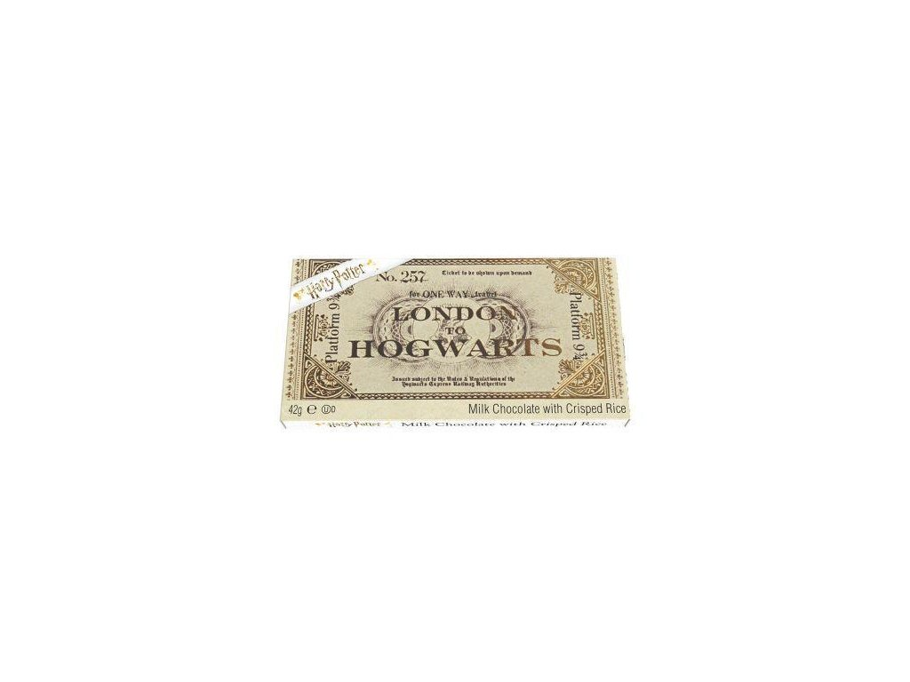 Harry Potter Ticket to Hogwarts Milok Chocolate 42g z1