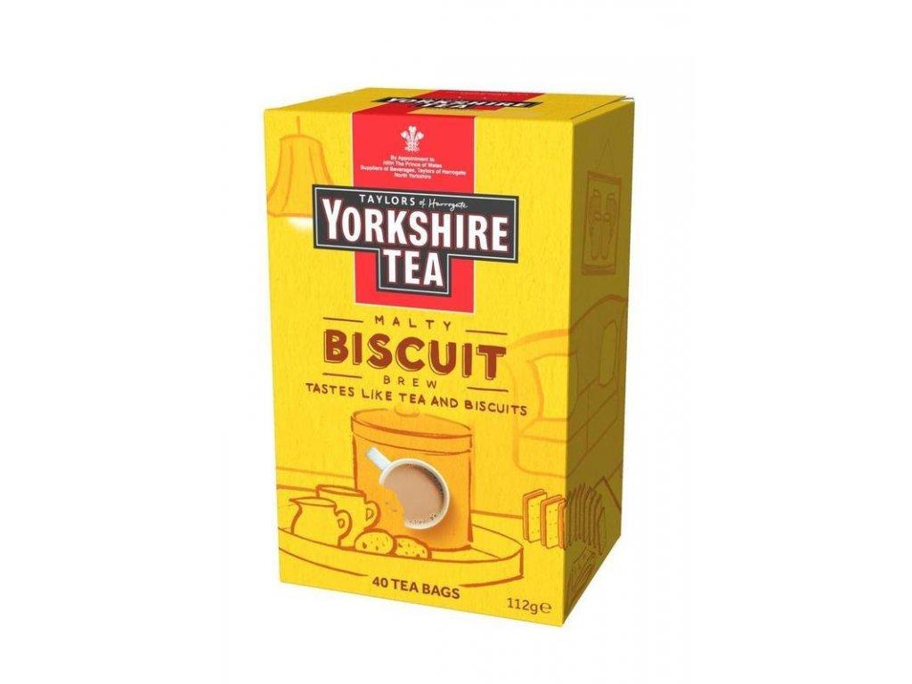 Yorkshire Tea Malty Biscuit Brew Black Tea 40S 112g z1