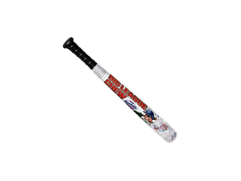 all city candy big league chew baseball bat with gumballs 29 oz novelty ford gum machine company 1 piece 323302 600x