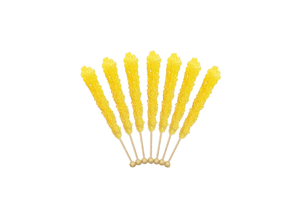 rock candy on a stick yellow banana old fashioned candies wholesale prices 500x500