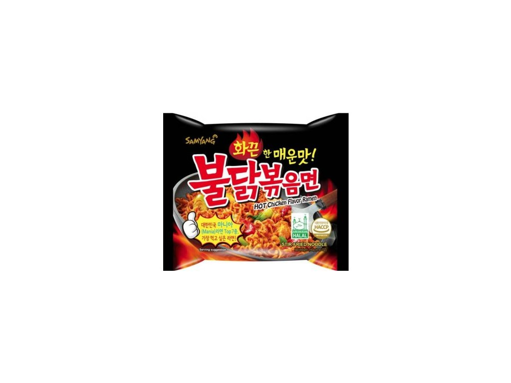 521 samyang hot chicken ramen korean noodles 140g