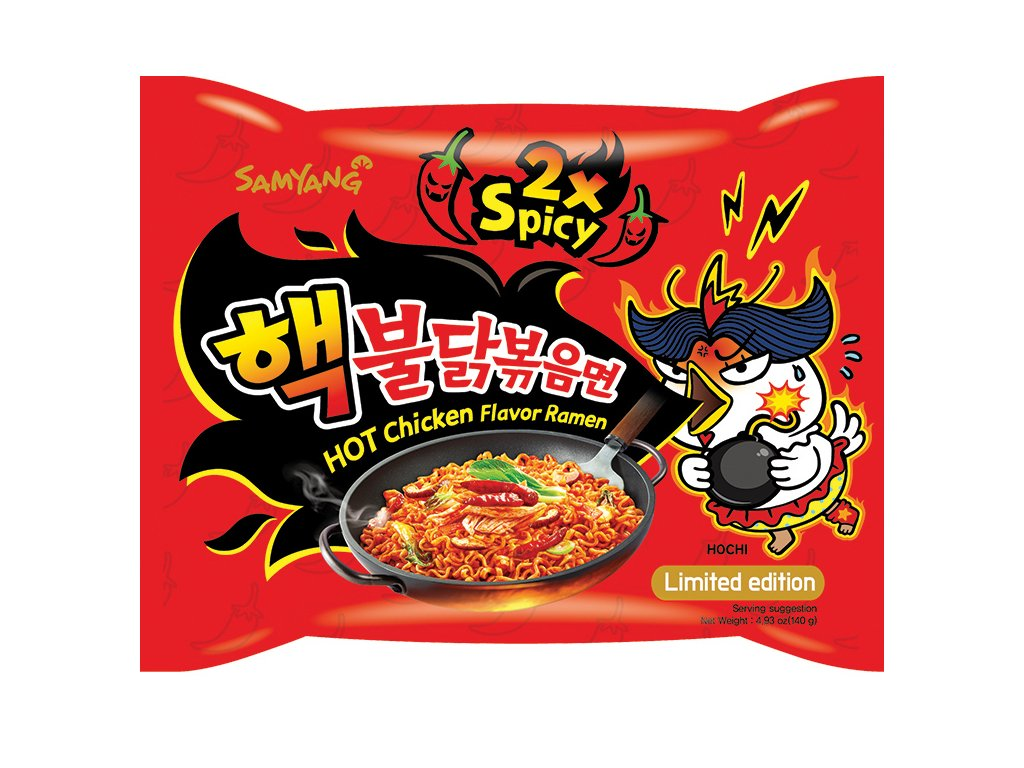 Samyang Hot Chicken Ramen 2XSpicy 140g