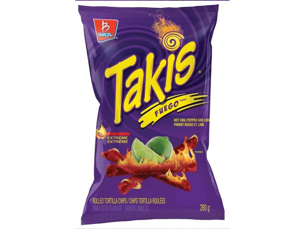 Takis Fuego Chips 113g