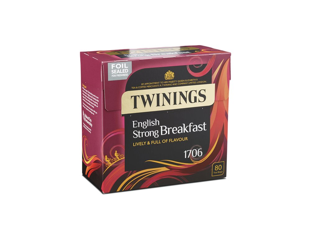 2 English Strong Breakfast 80 bags foil sealed right