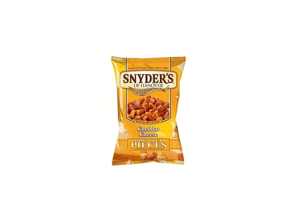 snyders cheddar cheese pretzel pieces