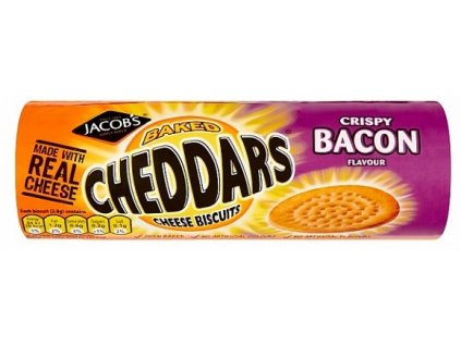 Jacobs Cheddars Bacoin 150g