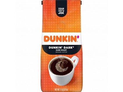 dunkin donuts ground coffee dark roast