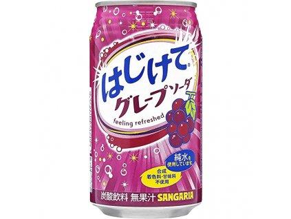 sangaria hajikete grape soda 350ml