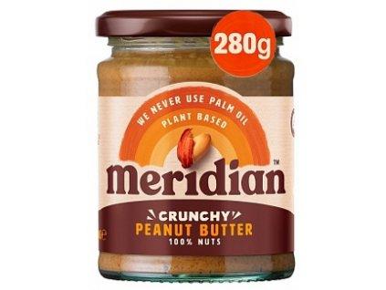 Meridian Crunchy Peanut Butter 280g
