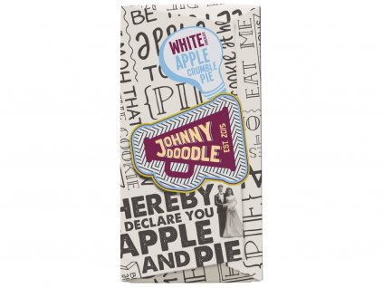Johnny Doodle White Apple Crumble Pie 180g