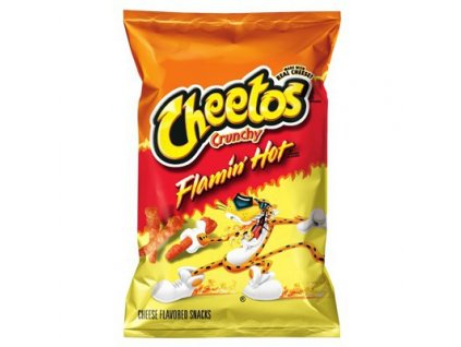 cheetos crunchy flamin hot large