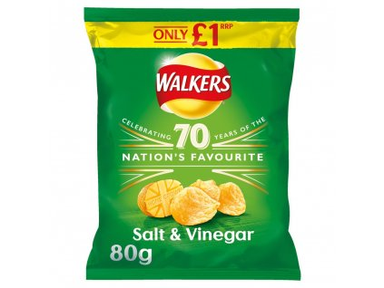 Walkers Salt And Vinegar 80g