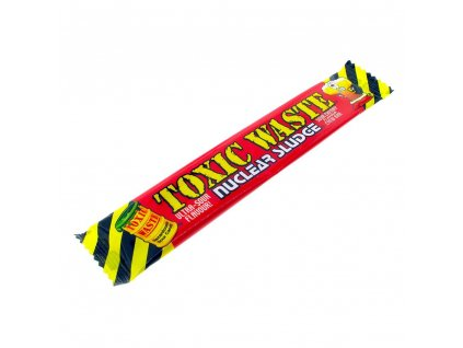 toxic waste nuclear sludge sour cherry flavour chew bar 5098 p