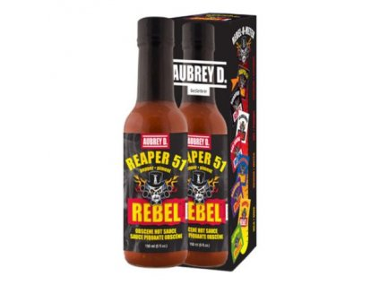 Aubrey D Rebel Reaper 51 Hot Sauce 150ml