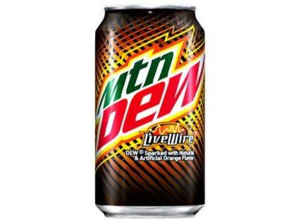 mountain dew live wire soda