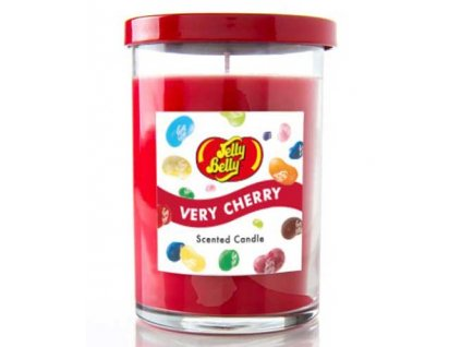 Jelly Belly Candle Lid Very Cherry 311g