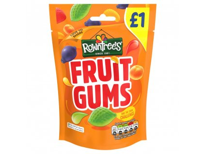 Nestle Rowntrees Fruit Gums 120g