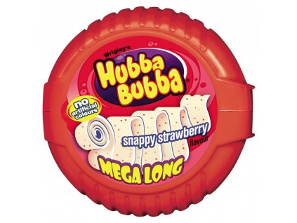Hubba Bubba Strawberry Tape 56g