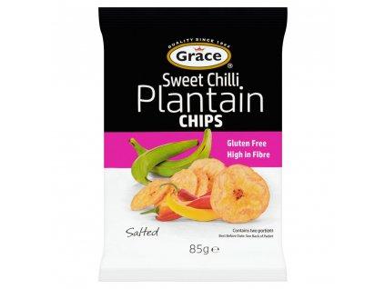 Grace Plantain Chip Sweet Chilli 85g